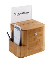 Suggestion Box for Patient Reviews